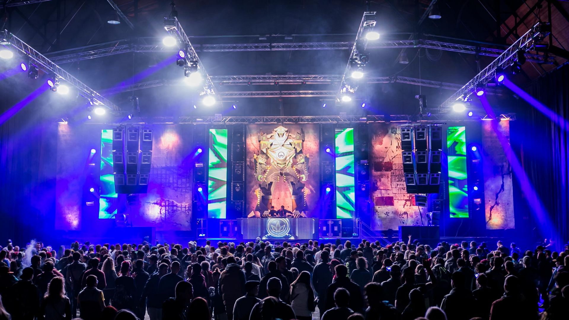 Festival Let It Roll On Tour Force Production Rental