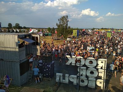 Red Bull stage - Rock for People 2018