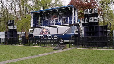 Red Bull -Tour Bus